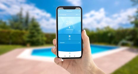 Pompe di calore per piscine con controllo remoto
