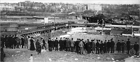 Il Polo Ground di New York in una foto dell'epoca (Mark Rucker/Transcendental Graphics — Getty Images)