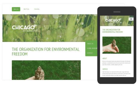 Mobile & Standard View Responsive Design at Jimdo
