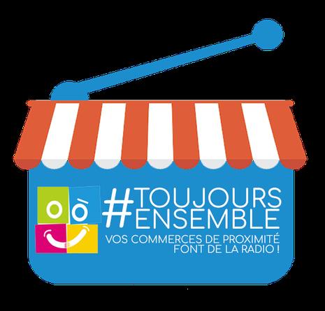 #ToujoursEnsemble, vos commerces de proximitéfont de la radio sur RPL Radio, DAB+ à Lille