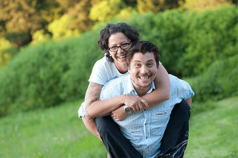 Steffi und Christian leben ihren Traum auf der Edermühle im Waldviertel Fotocredits: Josef Herfert