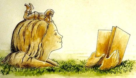 Création d'Olivier Leclerc pour une sculpture «augmentée» à installer dans un jardin public