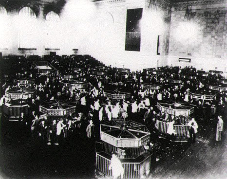 American Stock Exchange nach 6  Monaten 1929