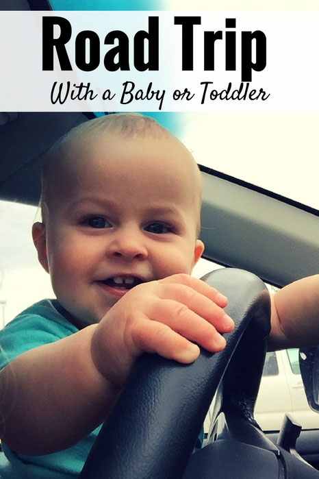 Planning a road trip with small children? Get our tips on how to Survive a Road Trip With a Baby or Toddler. Read more at www.BabyCanTravel.com/blog