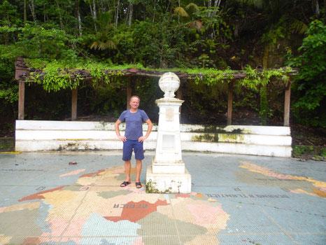 Am Äquator auf Sao Tomé