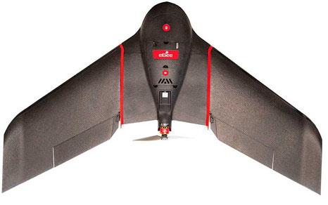 Ebee SQ Sensefly es un dron profesional con cámara multiespectral Sequoia
