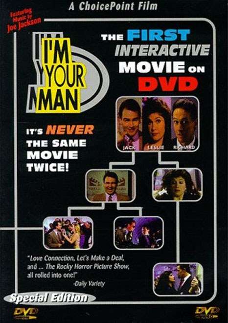 I'm Your Man dvd game