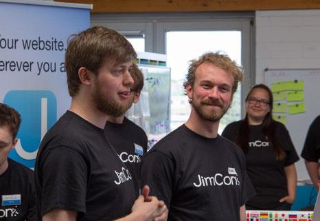 Jimdo Gründer Christian Springub und Fridtjof Detzner