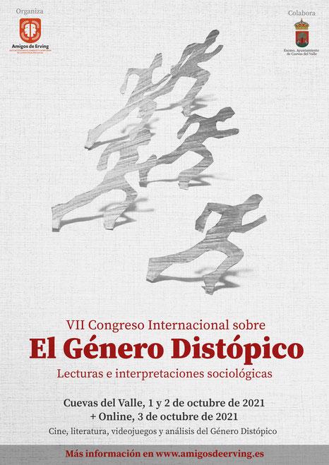 Cartel VII Congreso El Género Distópico
