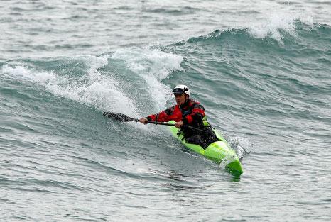 Essai du Nelo 510 à Sète par KayakMed