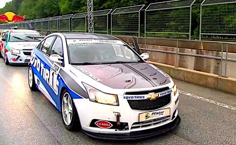 Rennfahrer Bad Salzuflen Dennis Bröker Chevrolet Cruze Eurocup 2020 Salzburgring Österreich ToyoTires