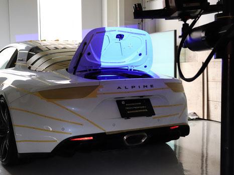 ATOS 3次元デジタイザー計測