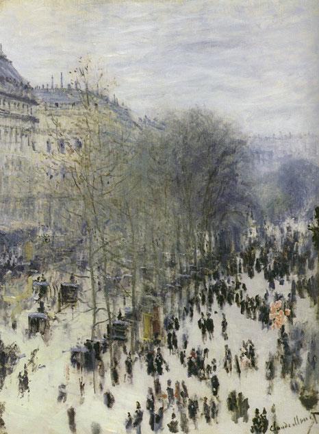 Самые известные картины Клода Моне - Бульвар Капуцинок