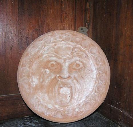 maschera fatta a mano Mostri di Bomarzo,