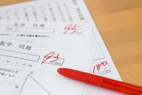 定期試験のイメージ