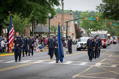 Fanwood Fire Dept - Memorial Day Parade 2018