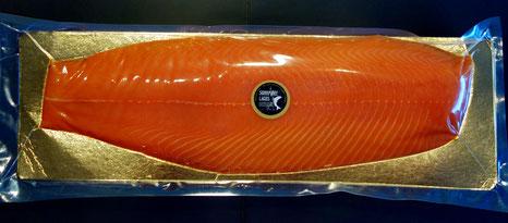 Unser beliebter Norwegischer Räucherlachs -Verpackung kann von Foto abweichen