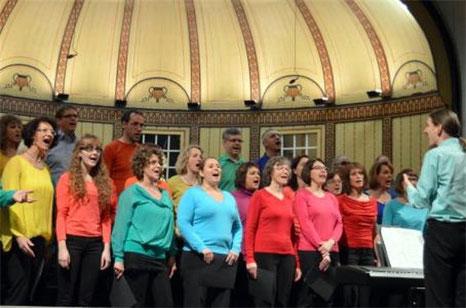 InTakt - Konzert junge Chöre - Wandelhalle Bad Kissinen - 2015  - Leitung: Stefan Ammersbach