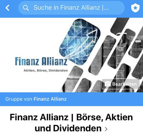Finanz Allianz Facebook Gruppe
