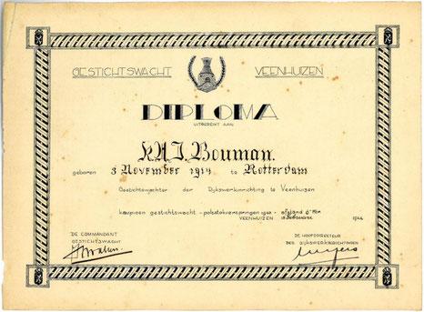 Diploma polsstokspringen