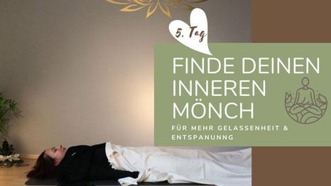 """Online Kurs """"Finde deinen inneren Mönch III"""""""