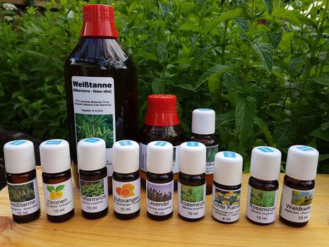 ätherische Duftöle aus eigener Produktion (BIO)