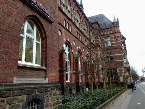 bonn, germany, architecture, old, buildings, brick, altstadt, oldtown, streets, travel