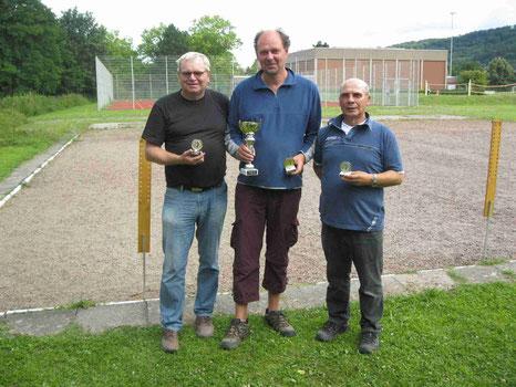 v.l. Jürgen Reckemeyer, Michael Schaper, Klaus Hübner