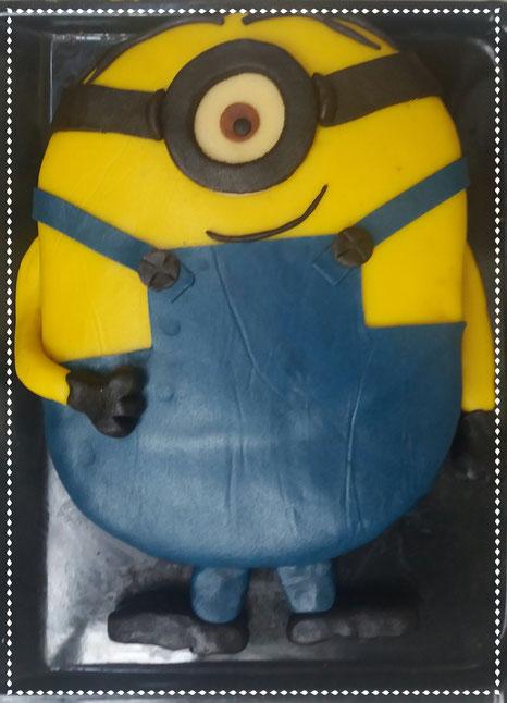 Minion-Torte