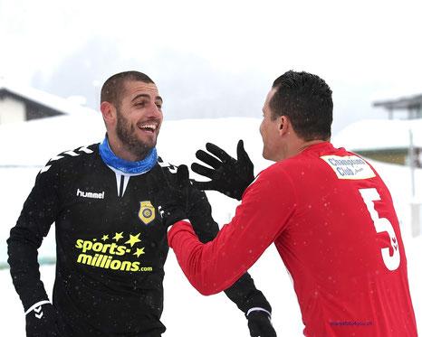 Ex-Fussballprofis Mladen Petric & Degen