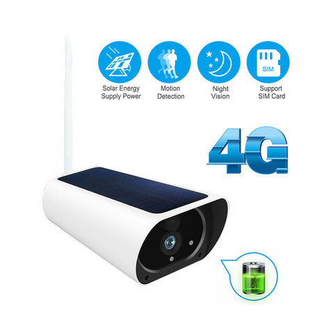 solar camera complete wireless solution for the monitoring of property