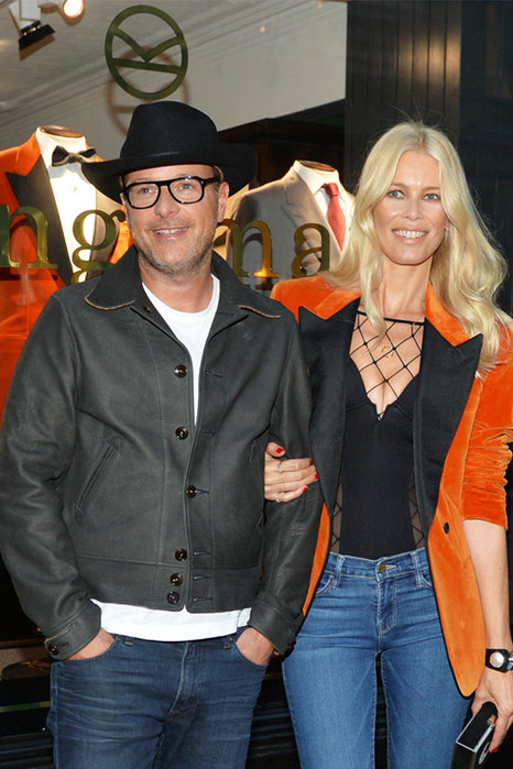 Kingsman The Golden Circle - Matthew Vaughn with Claudia Schiffer The Beauty Bot - Fox - kulturmaterial