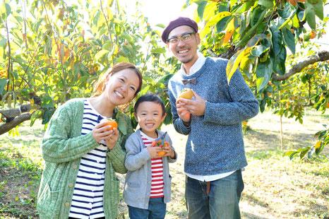岐阜の観光農園,カキ狩り,瑞穂市の富有柿