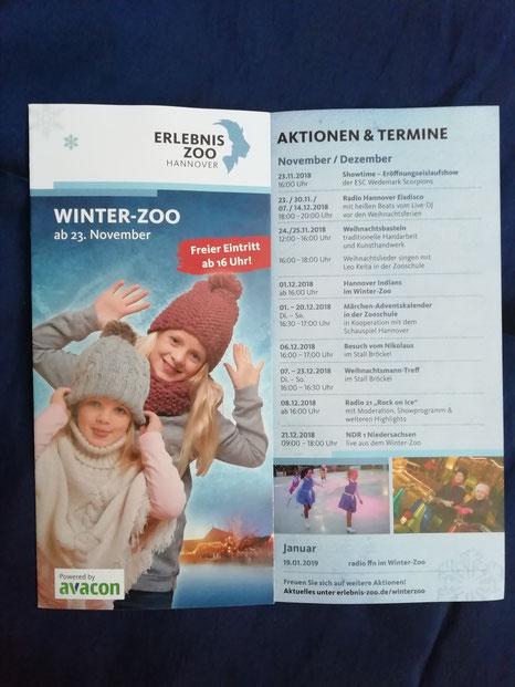 Flyer Winterzoo