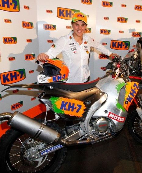 2014 Dakar Rider Laia Sanz