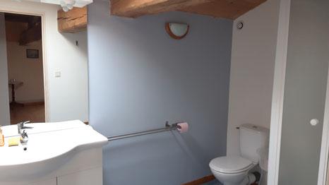 Salle d'eau relookée en mars 2021