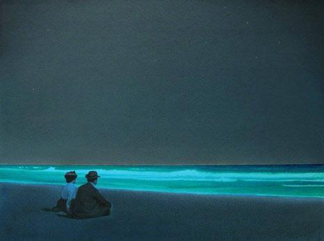"Devin Leonardi, ""Two Friends on the Shore of Long Island"" (2009)"