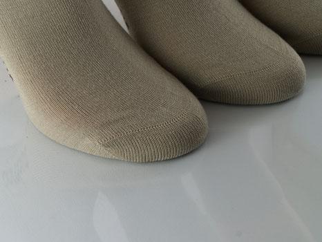 Bild: Bambus Kurzschaftsocken beige, Strumpf-Klaus