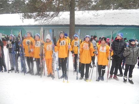 Первенство Кемеровской области по лыжным гонкам среди юношей и девушек 2000 - 2001 г.р. г. Кемерово, 2015