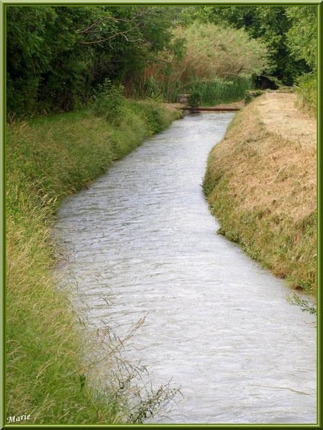 Le Canal des Alpilles à Saint Rémy de Provence, Bouches du Rhône