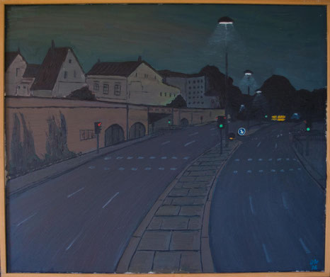 Süderhofenenden, Öl auf Leinwand, 1976
