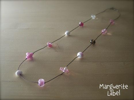 Pink Opera / Glass Beads