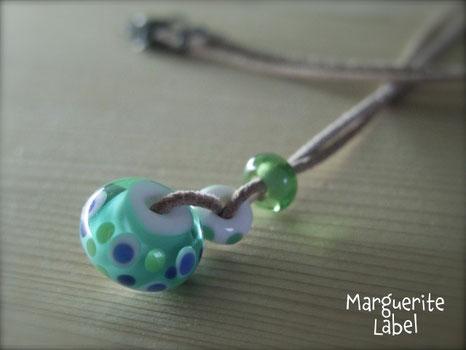 Blue & Green / Glass Beads