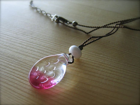 Pink&Clear / Necklace