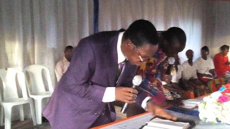 Pastor  Nelson Usman.(president/founder)
