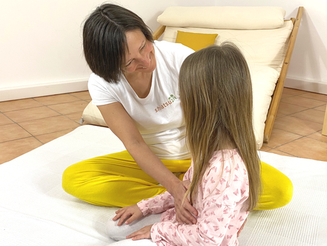 Katharina Grotte, Craniosacrale Körperarbeit mit Kind