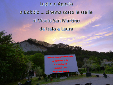 Bobbio Cinema sotto le stelle Estate 2017