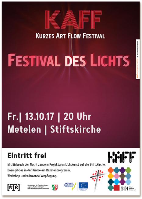 KAFF, Festival des Lichts, Metelen, Regionale