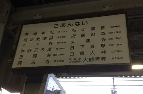 近鉄奈良線 石切駅(筆者撮影)