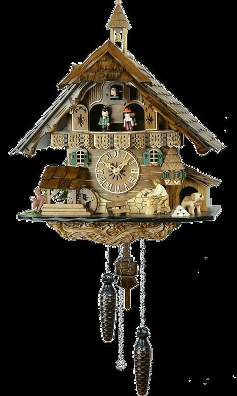 森の時計 483QMT ハト時計
